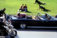 PRESIDENT JOHN F KENNEDY & JACKIE 1963 DALLAS MOTORCADE ASSASSINATION 8X10 PHOTO