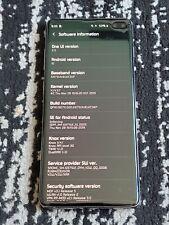 Samsung Galaxy S10+ SM-G975U - 1TB - Ceramic Black (Unlocked) (Single SIM)