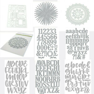 Tags Alphabet Number Steel Die Cut Cutting Dies Diy Scrapbooking Card Decoration