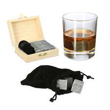 Pierres à whisky réutilisables pour rafraîchir cube glaçons boîte sac