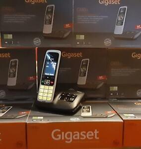CORDLESS GIGASET C430 A CON VIVAVOCE E SEGRETERIA TELEFONICA MANUALE IN TEDESCO