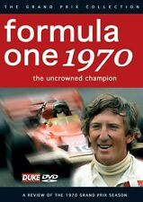 Formula One Review 1970 (New DVD) F1 Grand Prix Season Stewart Ferrari Lotus