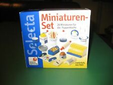 NIB  NEw Selecta Dollhouse Wooden Minatures Kitchen items RARE!