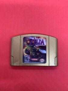 The Legend Of Zelda Majora's Mask Nintendo 64 N64 Holographic Authentic (loose)