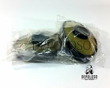 "Soviet russian military gas mask EO-19 ""PBF"" Filters. 2 filters replacement."