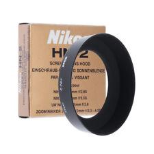 NIKON HN-2 ORIGINAL METAL LENS HOOD SHADE FOR 28mm 35-70mm #2 / LN / 90D W
