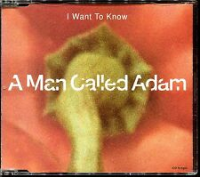 A MAN CALLED ADAM - I WANT TO KNOW - CD MAXI [344]