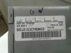 Audio Equipment Radio AM Mono-fm Stereo-cassette Opt UN6 Fits 95 LESABRE 627088