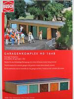 Busch H0 1648 Garagenkomplex (Bausatz) 1:87/H0 NEU/OVP