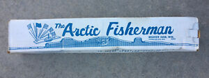 Vintage The Arctic Fisherman Ice Fishing Tip Up in Original Box, Beaver Dam, Wis