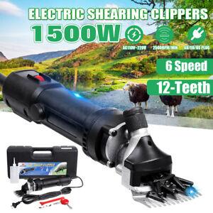 1500W Elektro Schafschere Schafschermaschine Schermaschine Trimmer Schafwolle