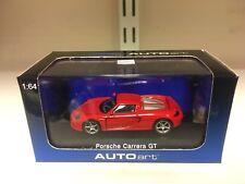 Autoart 1:64 Porsche Carrera Gt Rojo