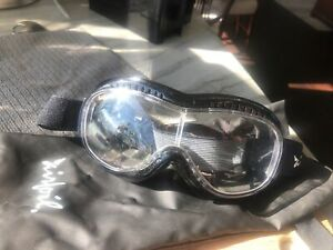 Pacific Coast Airfoil Black Goggles - Clear Lens