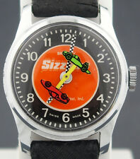 "Rare ""Sizzlers"" Hot Wheels Redline Era Race Car Character Watch by Bradley"