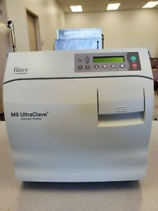 Ritter/ Midmark M9 UltraClave / Steam Sterilizer  170 cycles  in mint condition
