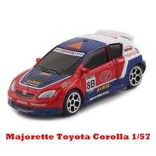 Majorette TOYOTA COROLLA WRC 1:57 Racing Car Diecast Mini Car Collection Model