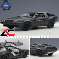 AUTOART 79912 1:18 DELOREAN DMC-12 (MATT BLACK) DIECAST MODEL CAR