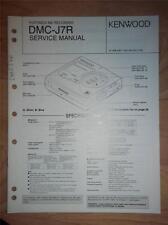 Kenwood Service Manual~DMC-K3 MD Minidisc Recorder/Player~Original