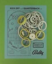 1976 Bally Kick Off / Quarterback pinball rubber ring kit