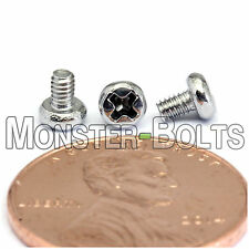M2 x 3mm - Qty 10 - Stainless Steel Phillips Pan Head Machine Screws DIN 7985 A