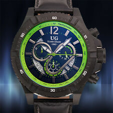 Ulysse Girard Swiss Chronograph Cyr Mens Watch ( Retails at $2,799.00 ) 2 Colors