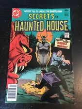 Secrets Of Haunted House#7 Awesome Condition 7.5(1977)