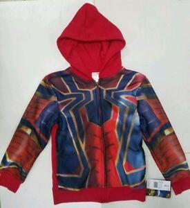 Boys' Spider-Man Long Sleeve Sweatshirt - Red