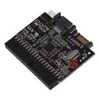 Bidireccional SATA Serial ATA a IDE Convertidor Adaptador Rojo Negro N4C5