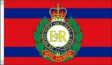 British Army Royal Engineers Corps 5'x3' Flag