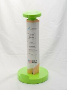 Meridian Touch n' Tear Paper Towel Holder Countertop Lime Green