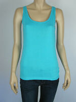 Capture Layers Layering Sleeveless Tank Top Singlet sizes 12 14 Colour Blue