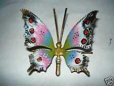 Farfalla in ferro battuto vari colori da appendere