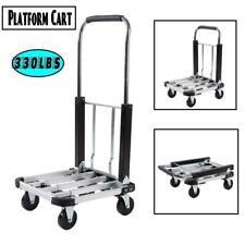 Heavy Duty Platform Truck 330 Lbs Capacity Folding Hand Truck Cart Adjustable