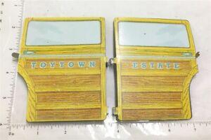 Wyandotte Toytown Estate Wagon Pressed Steel Side Door Replacements L&R WYP-022L