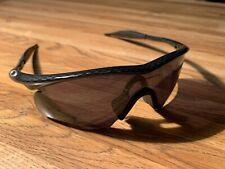 Oakley M Frame Carbon Fiber/ Black Iridium Hybrid!! Rare!!