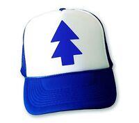 DIPPER HAT Gravity Falls Cartoon BLUE PINE TREE Adjustable Trucker Cap COMIC CON