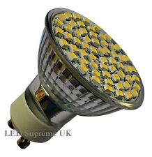 GU10 60 SMD LED 330LM 4.5W Dimmable White Bulb ~50W