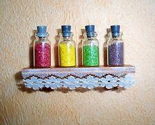 1:12 - Mayfair Miniatur Bord mit 4 Gewürzgläsern - Puppenhaus
