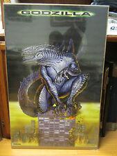 vintage Godzilla movie Poster original 1998 NICE 10411