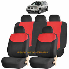 RED ELEGANT AIRBAG COMPATIBLE SEAT COVER for PONTIAC MONTANA TORRENT