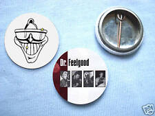 Dr Feelgood-Two Badge Set Wilko Johnson