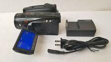 Canon Vixia Hv40 Mini Dv Hd Camcorder Hdv 1080i High Definition Firewire Port