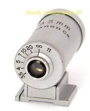 Canon 85 mm buscador de montaje de zapata para Leica Lentes Canon Nikon Contax Reid 85 mm