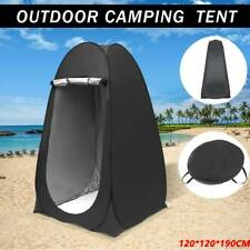 New Portable Pop Up Outdoor Camping Shower Tent Toilet with CarryBag AU
