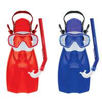 Mirage Shrimp Kids Snorkel Package Includes Flipper Snorkel Mask Sizes 3 - 9 yea