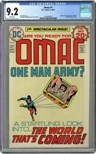 OMAC #1 CGC 9.2 - First appearance and origin of OMAC - WHITE PAGES!!