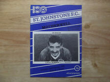 St Johnstone v Motherwell Division 1 02/02/85