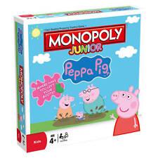 Monopoly Junior Peppa Pig Edición tablero juego por Winning Moves
