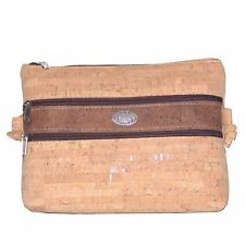 The NIKITA shoulder bag in wood cork. eco-friendly, handmade. VEGANS