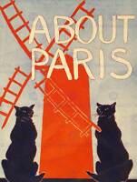 ADVERT BOOK CITY GUIDE ABOUT PARIS HARDING DAVIS FINE ART PRINT POSTER ABB5720B